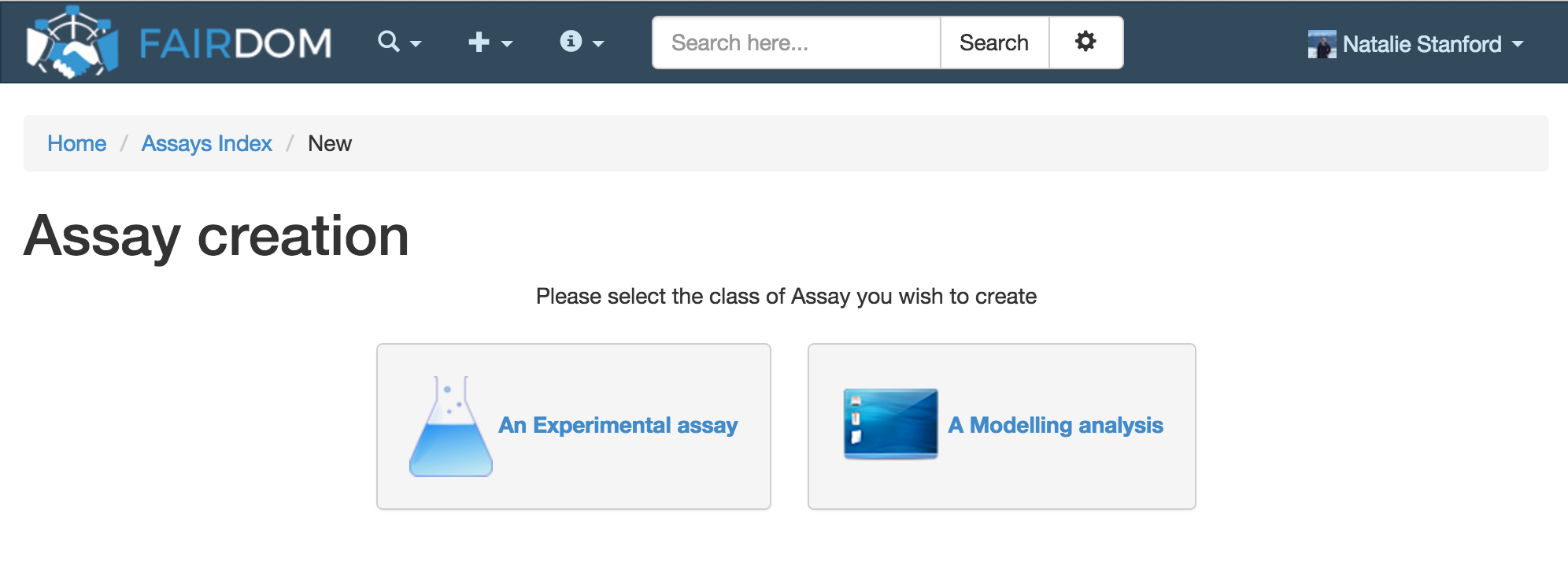 create assay 1