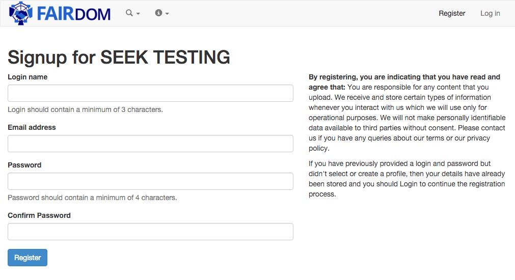 seek4science docs seek user guide registering rh docs seek4science org Enrollment Registration Reminder of Vehicle Registration